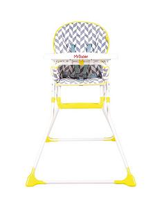my-babiie-mbhc1hb-herringbone-compact-highchair