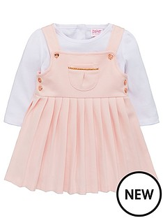 baker-by-ted-baker-baby-girls-ponte-pinafore-dress-and-top-light-pink