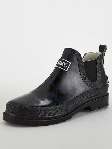 regatta-lady-harper-ankle-wellington-boot-black-navy