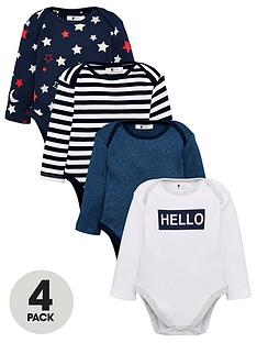 v-by-very-baby-boys-4-pack-starstripehello-bodysuits-multi