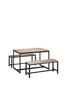 julian-bowen-tribeca-120-cm-dining-table-2-benches