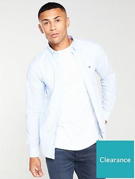 tommy-hilfiger-striped-poplin-shirt-sky-bluewhite