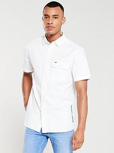 tommy-jeans-side-logo-short-sleeved-shirt-white