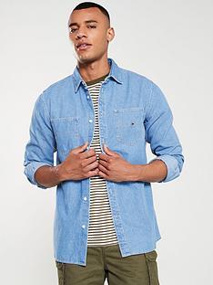 tommy-jeans-denim-pocket-shirt-mid-indigo