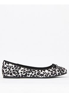 evans-extra-wide-fit-robyn-ballet-shoes