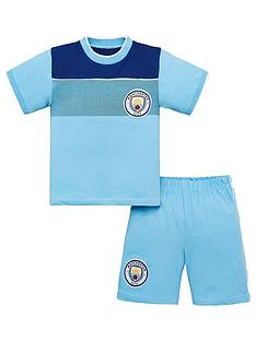 manchester-city-football-kit-childrens-shorty-pyjamas-multi
