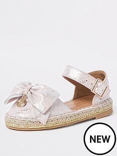 river-island-mini-mini-girls-snake-bow-espadrille-sandals-pink