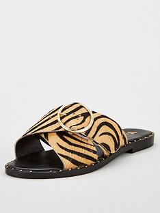 v-by-very-haven-cross-strap-leather-buckle-sliders-animal-print