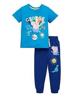 peppa-pig-boys-george-pig-rainbow-fun-t-shirt-and-joggers-set-multi