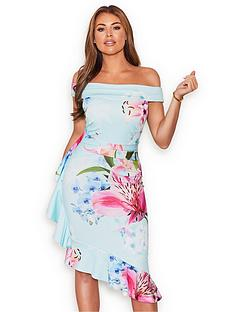 sistaglam-loves-jessica-jessica-wright-floral-bardot-midi-dress-multi