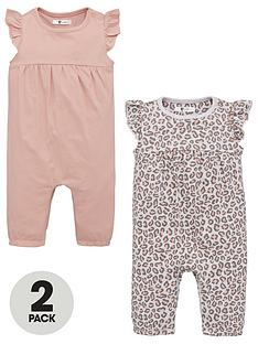 v-by-very-baby-girls-leopard-print-2-pack-rompers-multi