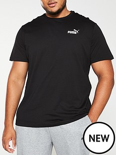 puma-plus-size-essential-small-logo-t-shirt-black