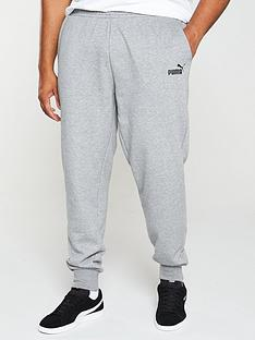 puma-plus-size-essential-logo-pants-grey