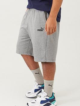 puma-plus-size-mens-essentials-sweat-shorts-grey