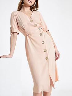 ri-petite-ri-petite-button-detail-midi-dress-blush