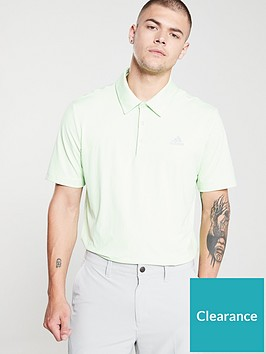 adidas-golf-ultimate-365-solid-polo-green