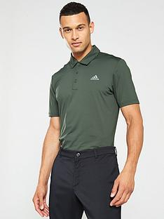 adidas-golf-ultimate-365-solid-polo-grey
