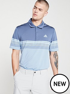 adidas-golf-ultimate-gradient-black-stripe-polo-blue