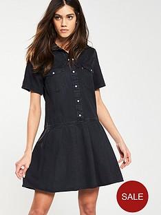 levis-levis-mirai-western-pleated-dress