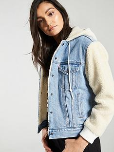 levis-levis-ex-bf-sherpa-sleeve-trucker-jacket