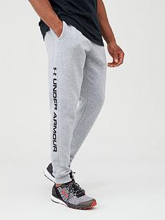 under-armour-rival-fleece-wordmark-logo-joggers-greyblack