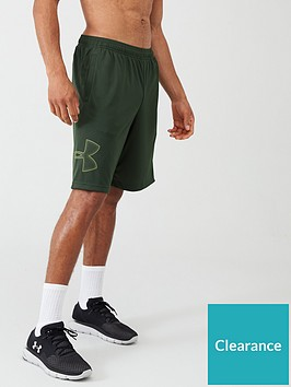 under-armour-tech-graphic-shorts-greenblack
