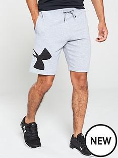 under-armour-rival-fleece-logo-sweat-shorts-grey