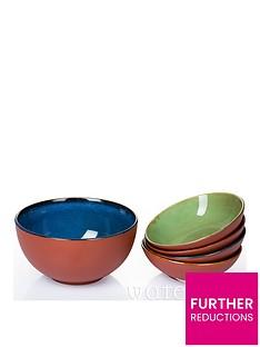 waterside-5-piece-rustic-terracotta-pastasalad-bowl-set