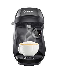 1600355405: BoschTassimo Happy Single Serve Pod Coffee Machine - Black