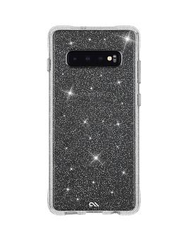 Sheer Crystal Protective Case for Samsung Galaxy S10+ - Clear