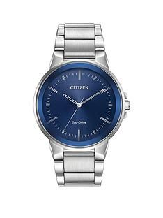 citizen-citizen-eco-drive-blue-sunray-dial-stainless-steel-bracelet-mens-watch