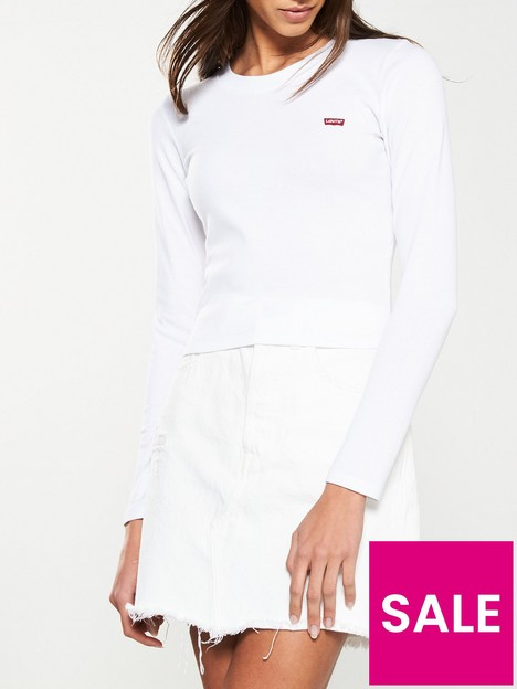 levis-long-sleeve-baby-t-shirt-white