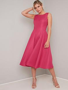 chi-chi-london-sheila-midi-dress-fuchsia