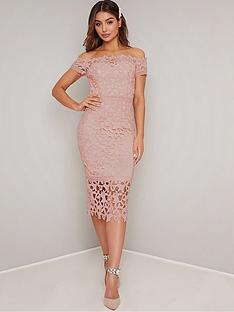 chi-chi-london-victoirenbspbardot-lace-midi-dress-pink