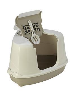 petface-hooded-corner-cat-litter-tray