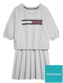 tommy-hilfiger-girls-flag-sweat-dress-grey