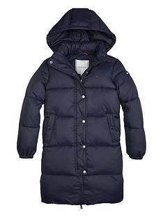 tommy-hilfiger-girls-recycled-long-hoodednbsppadded-coat-navy