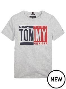 tommy-hilfiger-boys-short-sleeve-printed-t-shirt-grey