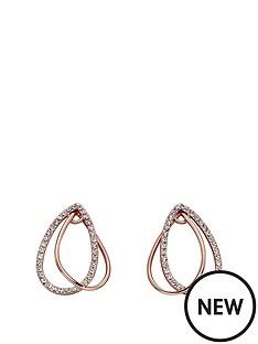 fiorelli-jewellery-fiorelli-rose-gold-plated-crystal-teardrop-loop-earrings
