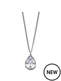 fiorelli-jewellery-fiorelli-silver-cubic-zirconia-stone-pendant-necklace