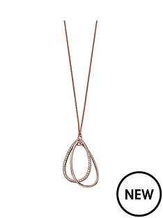 fiorelli-jewellery-fiorelli-rose-gold-plated-crystal-teardrop-loop-pendant-necklace