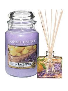 yankee-candle-large-jar-candle-and-reed-diffuser-set-ndash-lemon-lavender