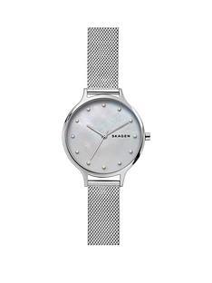 skagen-skagen-anita-mother-of-pearl-dial-stainless-steel-mesh-strap-ladies-watch