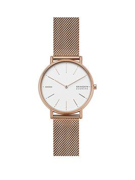 skagen-skagen-silver-and-rose-gold-detail-dial-rose-gold-stainless-steel-mesh-strap-ladies-watch
