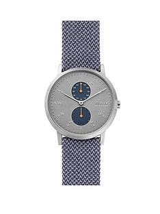 skagen-skagen-kristoffer-grey-multi-dial-blue-kravadt-fabric-strap-mens-watch