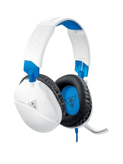 turtle-beach-recon-70p-gaming-headset-for-ps5-ps4-xbox-switch-pc-white-amp-blue