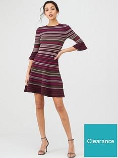 ted-baker-tayiny-stripe-ottoman-knitted-dress-khaki