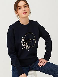 ted-baker-yoynia-pearl-printed-sweatshirt-dark-blue
