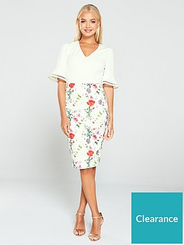 ted-baker-wesa-hedgerow-circle-detail-bodycon-dress-white