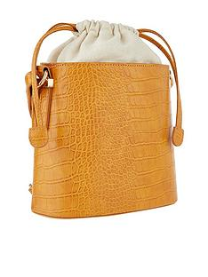 accessorize-croc-olivia-bucket-bag-ochre